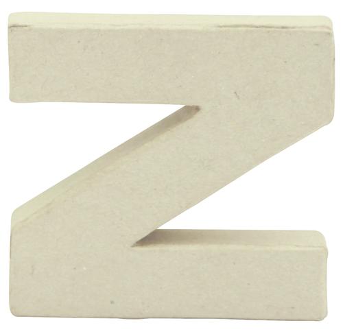 Decopatch Mache Little Letter R White