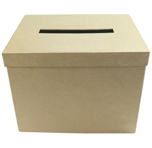 Lot de 2 urnes rectangles
