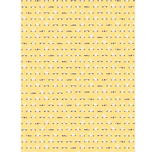 Decopatch jaune papiers collection